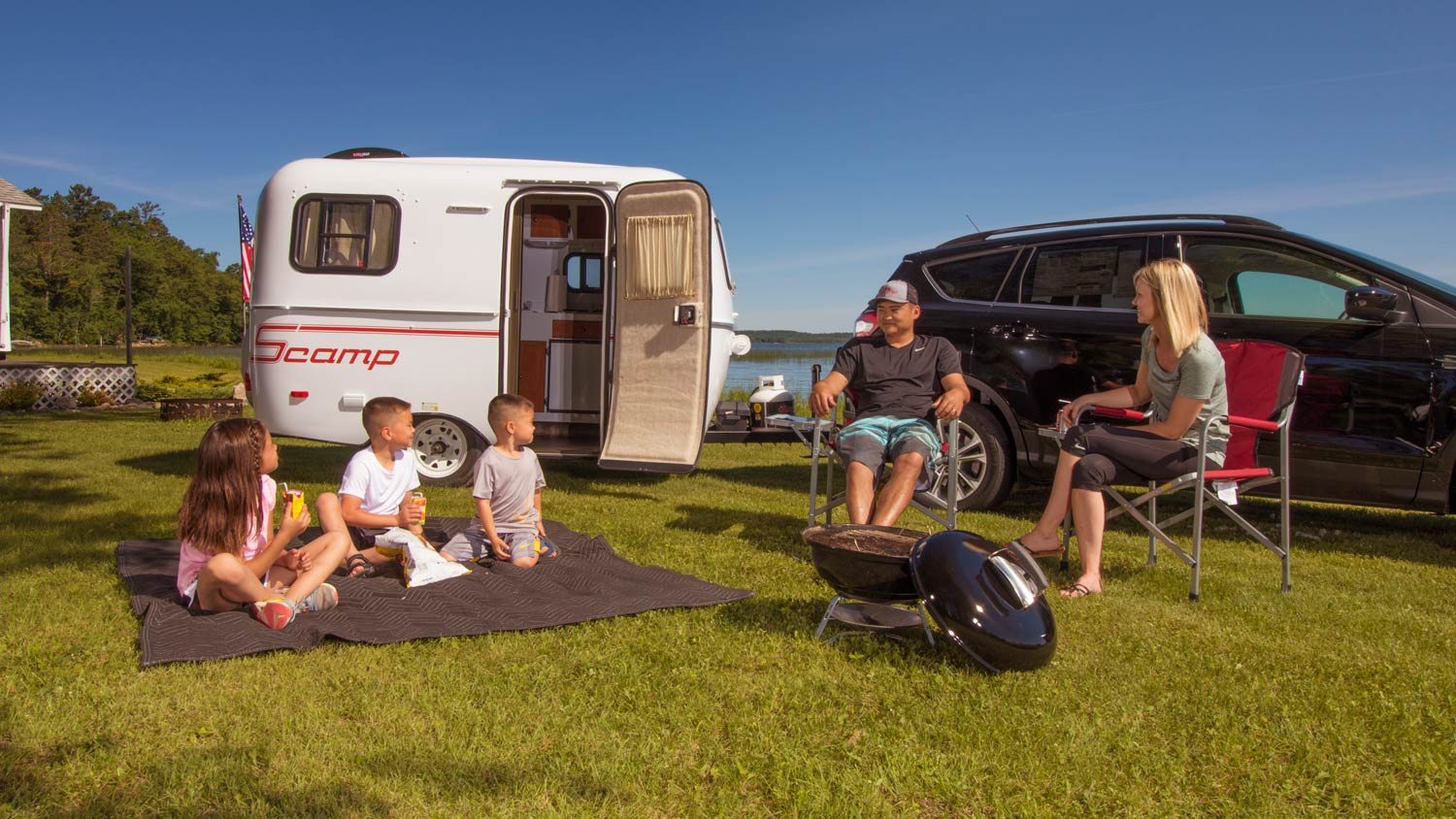 Features to Look for When Shopping for Camper Trailers