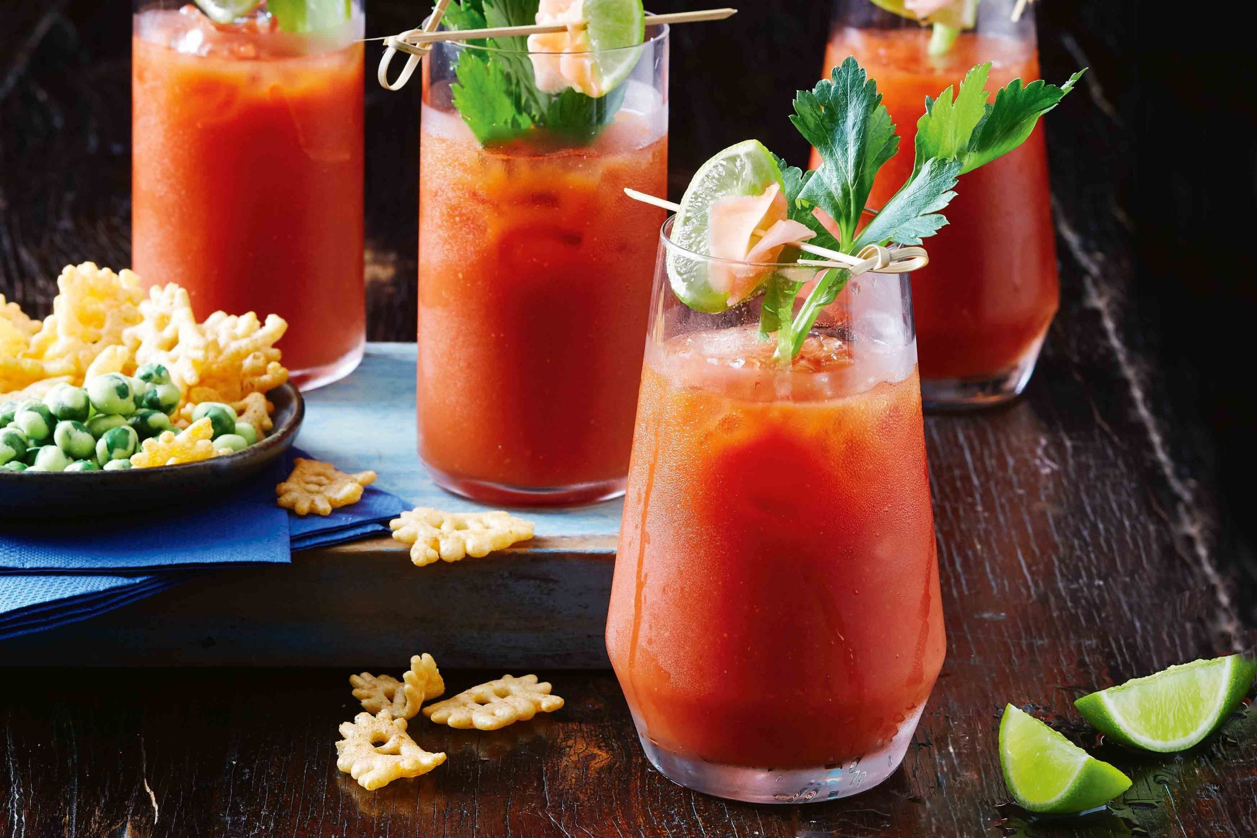 A Guide to Many variations of Bloody Mary and Appetizers to Pair with It