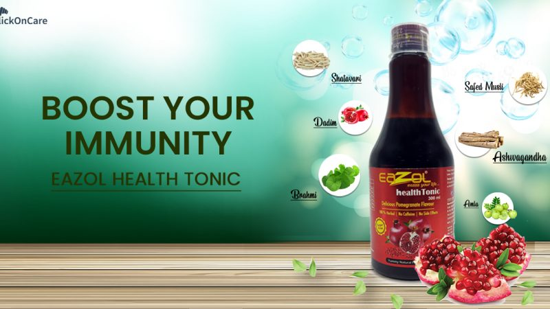 Pure Herbal Goodness in Eazol Health Tonic for Glowing Skin and Improved Immunity