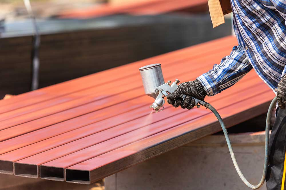 Apply protective coatings