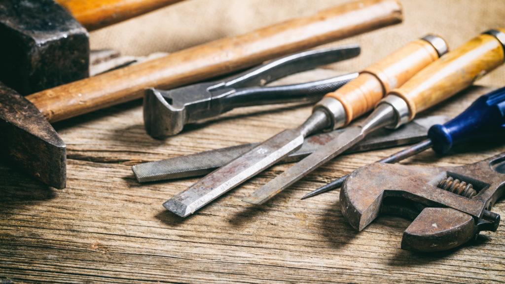 Avoid getting tools wet
