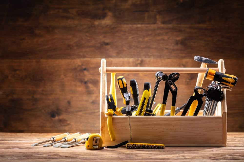Store different tools separately