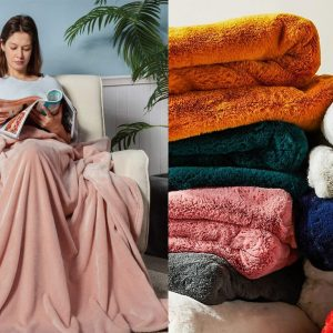 Elevating Your Home Decor in the Winter Season – or in Any Season – with Decorative Blankets, Pillows